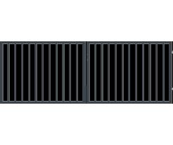Brána PARIS  dvojkrídlová  v110cm