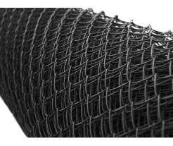 Čierne PVC pletivo oko 50x50mm
