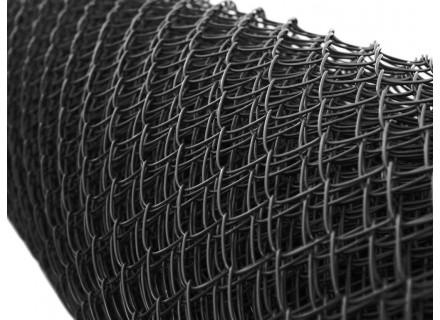 ČIERNE a ANTRACITOVÉ PVC pletivo, oko 50x50, hrubý drôt 3,5mm, VYSOKÁ KVALITA