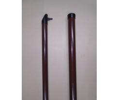 Stĺpik BPL -hnedý RAL8017  alebo čierny RAL9005