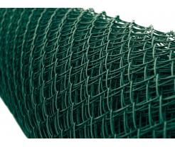PVC Pletivo zelené, oko 50x50, priemer drôtu 2,5mm, výška 160 cm